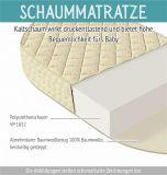 Schaumkernmatratze für Babybett