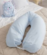 Nursing Pillow - Blue White
