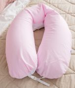 Nursing Pillow - Pink White