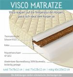 Viscose round mattress for Baby cot