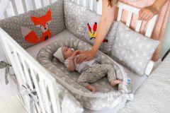 ComfortBaby FourSeasonsDream Babynest - Füchschen im Wald