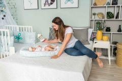 ComfortBaby FourSeasonsDream Babynest - Waschbärchen im Sommer