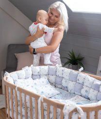 ComfortBaby Babybett / Beistellbett SmartTrip 3in1 - Natur